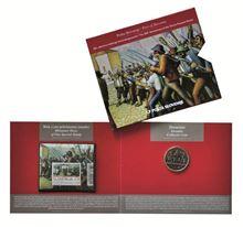 Filatelistično-numizmatični komplet – 300. obletnica tolminskega punta