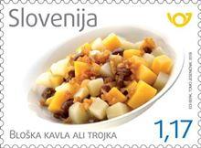 Z žlico po Sloveniji - Bloška kavla ali trojka