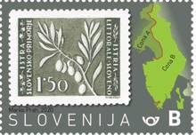 75. obletnica izdaje prvih slovenskih poštnih znamk za Slovensko primorje in Istro