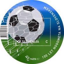 100 let nogometa na Slovenskem