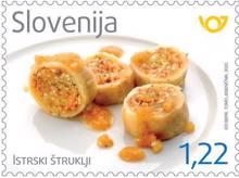 Z žlico po Sloveniji - Istrski štruklji